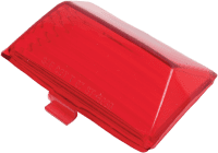 lente punta de guardabarro rojo